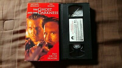 The Ghost and the Darkness (VHS, 1997) Horror/Action! Tested & It Works!!!