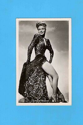 ► GINGER ROGERS - CP - CARTE POSTALE - PHOTO - TBE - ( Paramount 1952)