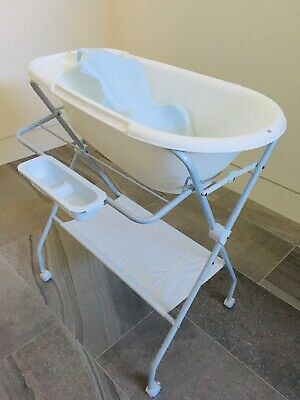 Baby Portable Bathtub & Stand