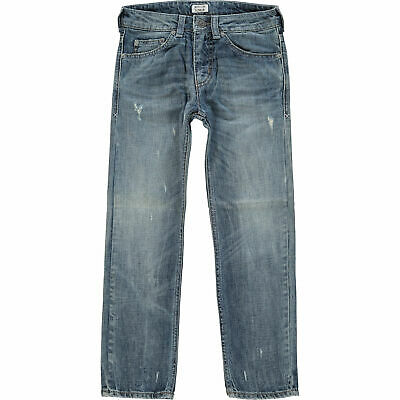 ARMANI JUNIOR Boys' Kids' Blue Distressed Jeans, size 8 years, RRP £110