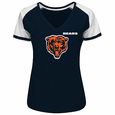 Chicago Bears Taking Charge V-Neck Tee