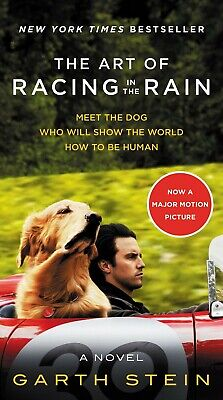 The Art of Racing in the Rain Movie Tie-in Edition: A Novel Mass Market Paperbac