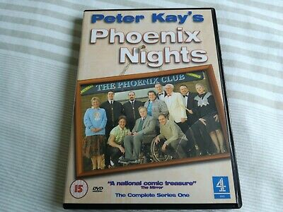 Phoenix Nights (DVD, 2002) complete series one 1 tested
