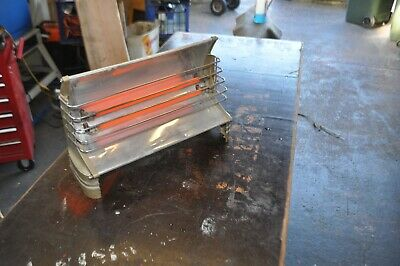 Vintage  heater Two Bar 1950s Retro Radiant Electric Heater