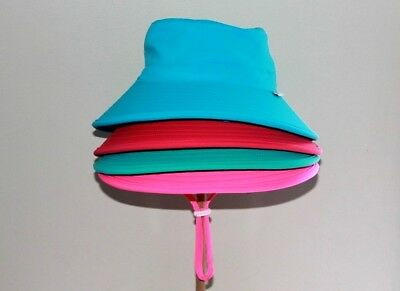 Seconds Swim Kids Eco Friendly Baby Bucket Sun Hat Adjustable Wide Brim UPF 50+