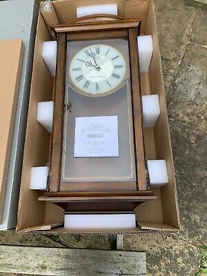 Seiko Westminster Whittington Clock Unused Boxed Save £s