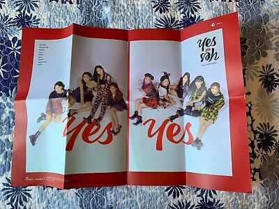 TWICE - Yes or Yes Poster - Folded - Version C