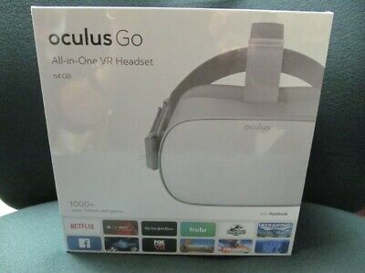 New Oculus Go All-In-One Vr Headset 64Gb No Pc Or Phone Required 360 Degree View