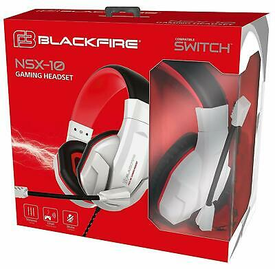 AURICULARES Blackfire Gaming Headset NSX-10 / NINTENDO SWITCH / Nuevo Precintado