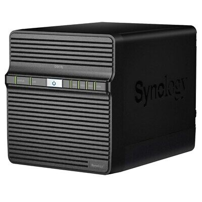 Synology Diskstation DS418j 4-Bay Fisso Nas Scatola