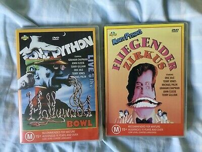 Monty Python - Fliegender Zirkus & Live At The Hollywood Bowl - DVD