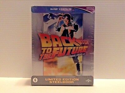 back to the future trilogy- limited edition steelbook (Blu-ray) *NEW*