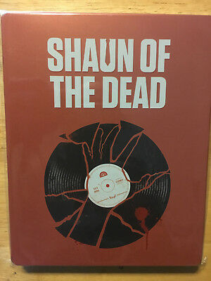 SHAUN OF THE DEAD STEELBOOK  (Blu Ray) Buy more save!