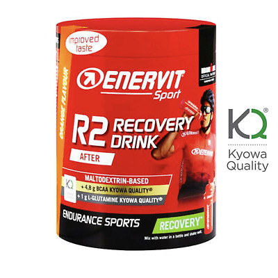 ENERVIT R2 Sport RECOVERY DRINK 400 GR Integratore Recupero Completo