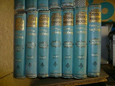 The Strand Magazine Vols 1 - 28 Complete First Editions Doyle. Sherlock Holmes