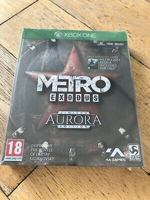 Metro Exodus Aurora Limited Edition Includes Season Pass - Xbox One *Brand New*