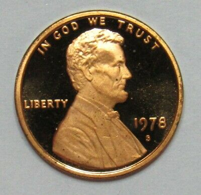 1978 S Proof Lincoln Memorial Cent
