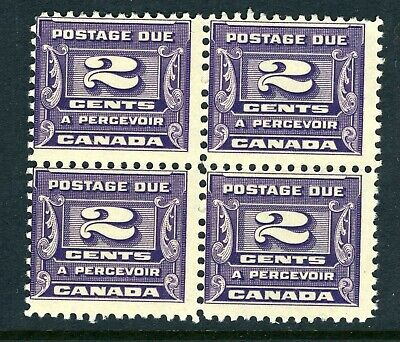 CANADA Scott J12 - MNH - BLK of 4 - 2¢ Third Postage Due Issue (.016)