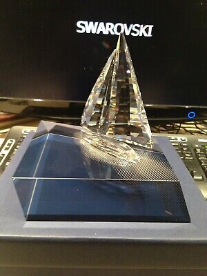 Swarovski Crystal 'Sailing Legend+ Display' Free Post To Uk Only With Buy It Now