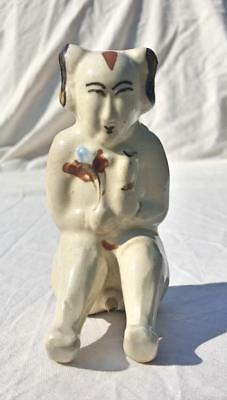Chinese Antique Cizhou Pottery Figure Of A Man - Song/Yuan? dynasty or later