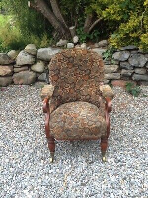 Late Victorian Armchair / Tub Chair