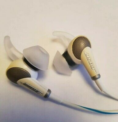 Bose QuietComfort QC20i In-Ear Only Headphones - White/Blue