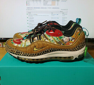 NIKE MEN'S AIR Max 98 CNY 2019 Chinese New Year YOTP Wheat