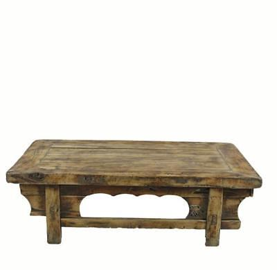 Low Rustic Accent Table or Coffee Table 1