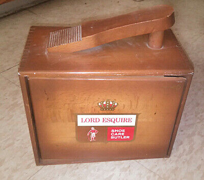 Lord Esquire Shoe Valet Kit. With accessories.