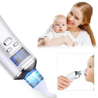 Newborn Baby Nasal Aspirator Electric Nose Cleaner Safe Hygienic Snot Sucker New