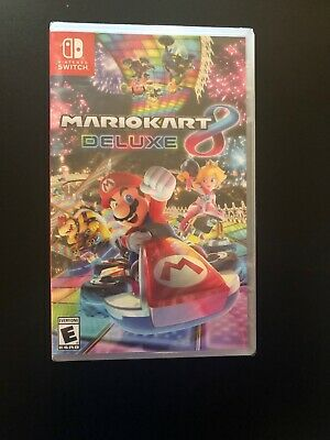 Mario Kart 8 Deluxe (Nintendo Switch) (Brand New)