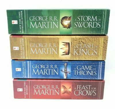 Game of Thrones Series Books 1-4 Paperback George R.R. Martin