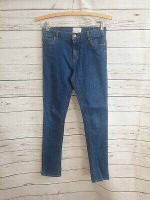 COUNTRY ROAD girls skinny jeans size 12 worn once adjustable waist mid blue #535