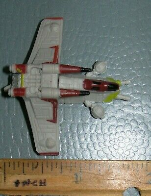 "Star Wars AOTC Micro Machines REPUBLIC GUNSHIP 1.75"" Vehicle Hasbro 2015 Clone"