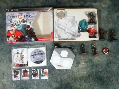Disney Infinity Starter Pack Sony Playstation 3 PS3 Pirates Monsters Incredibles
