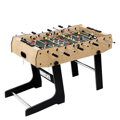 Foosball Foldable Soccer Table Tables Football Game Home Party Entertainment