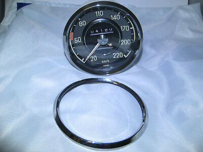 Tachoring, Chromring, Frontring,  Mercedes Pagode  Tachometer