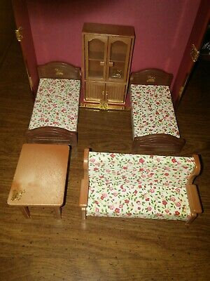 Vintage Maple Town Story Bandai Dollhouse Furniture