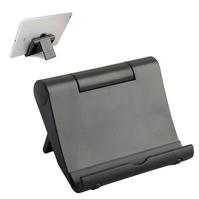 Universal Multi Angle Stand Holder For iPad Air 2 iPhone Samsung Tablet Black WT