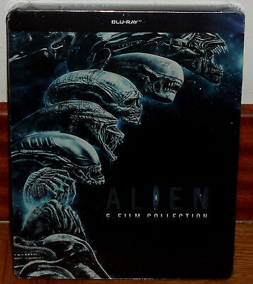 Alien Collection 6 Blu-Ray Steelbook Neuf Scellé Science Fiction (sans Ouvrir)