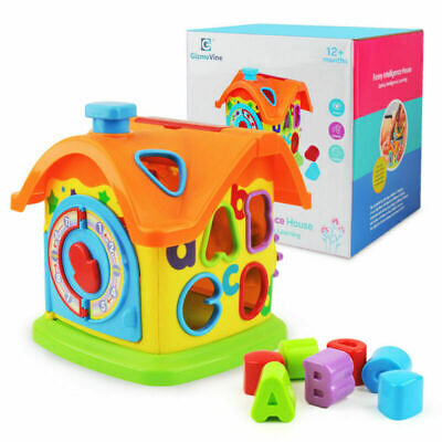 Baby Fun House Baby Toys Alphabet Sorting Blocks Learning Toys For Kids Toddler