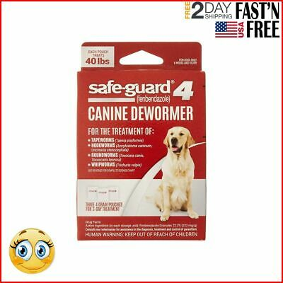 Dog Dewormer Large Puppy Tapeworm Worms Medicine New