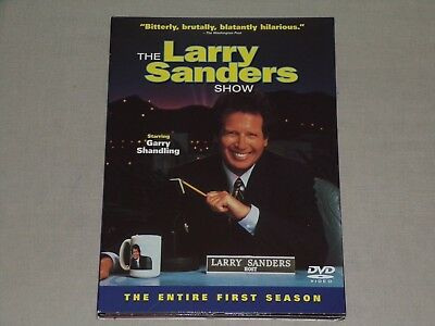 The Larry Sanders Show - The Entire First Season (3 DVD's, 2002, Columbia)
