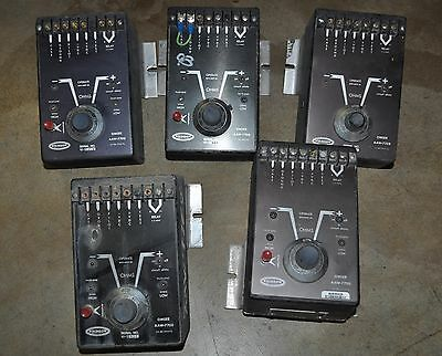 Atkinson Osmer Ground Circuit Monitor Lot of 5 - Model# AAW-7700 & AAW-732R