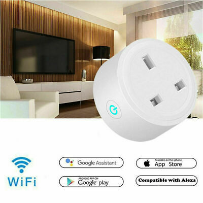 WIFI SMART LIFE Timer Switch Socket UK Plug FCC Proved Wireless