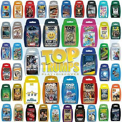 Top Trumps Card Games - Largest Collection- From £0.99p Buy it Now