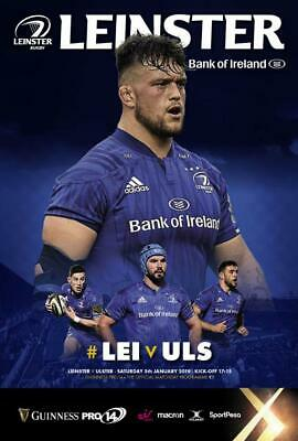 * 2018/19 - Leinster Rugby Home Programmes - Choose From List *