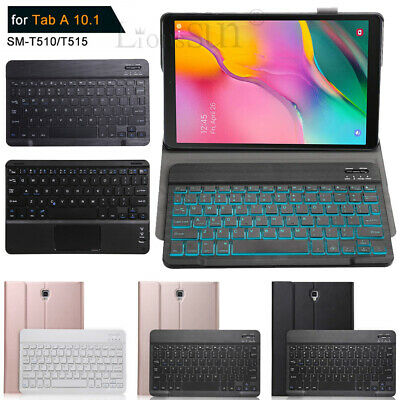 For Samsung Galaxy Tab A 10.1 2019 T510 Leather Case Cover+Bluetooth Keyboard