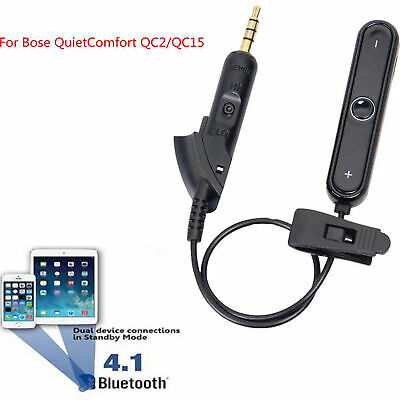 Bluetooth4.1 Receiver Adapter Cable Replace For QuietComfort QC15