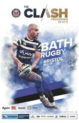 * 2018/19 - Bath Rugby Home Programmes - Choose From List *